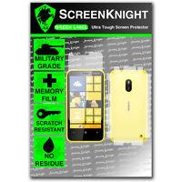 ScreenKnight Nokia Lumia 620 FULL BODY SCREEN PROTECTOR invisible shield