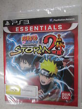 Naruto Ultimate Ninja Storm 2 PS3 (NEW)