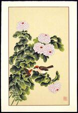 An-Li Han, Four Seasons suite HAND SIGNED FINE ARTLtd Ed serigraph birds OBO