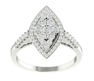 SI1 G Round Cut 1.20TCW Diamond Solitaire Ring Engagement 14k Solid Gold 18.40MM
