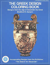 The Greek Design Colouring Book: Designs from the Age of Alexander the Great (A