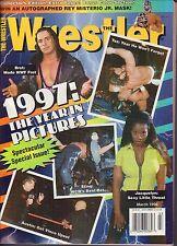 The Wrestler March 1998 Bret Hart, Steve Austin VG 050616DBE