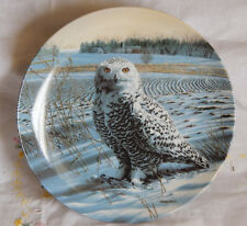 The Snowy Owl Plate The Stately Owls