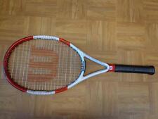 Wilson Six ONE TEAM Midplus 100 head 9.4 16x20 4 1/2 grip Tennis Racquet