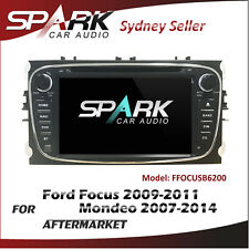 SP GPS DVD SAT NAV IPOD BLUETOOTH FOR FORD FOCUS 2009-2011 MONDEO 07-14 BLACK