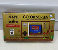 Nintendo Game and Watch Super Mario Bros Electronic Handheld - BRAND NEW