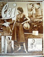 * lei N° 28/ 8/LUG/1952 * Rivista di moda *
