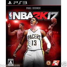 NBA 2K17 SONY PS3 PLAYSTATION JAPANESE NEW