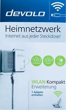 Devolo dLAN 500 WiFi Einzeladapter WLAN Powerline Adapter Neu