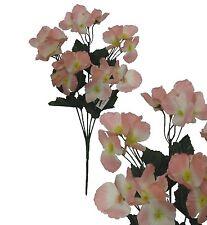 Lot of 24 Pink Hydrangea Picks 120 Stems Wedding Home Decor Craft Silk Flower