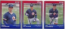 1989 Star Lynchburg Red Sox 28-card Minor League Baseball Team Set  Tim Naehring