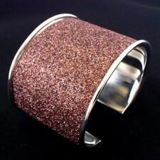 Armband Armreifen Armspange Disco Mode Schmuck Bollywood Indien Goa Hippie Braun