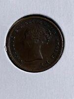 1844 Great Britain 1/2 Farthing!!!