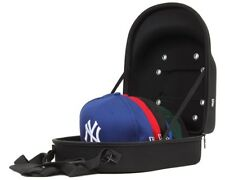 82e676de478 New Era 6 Cap Carrier Hat Storage System Transport Protect Carry Case Bag  Black