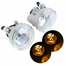 Pair Clear Front Fog Lights Assembly w/ Bulbs for Toyota Prius Highlander 04-09