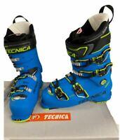 $720 Tecnica Mach MV 120 Ski Boots Men 26.5, 27.5 NIB Blue '19 100 last 120 Flex