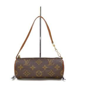 Louis Vuitton LV Accessories Pouch Bag of Papillon Browns Monogram 1418625