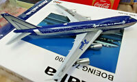 Alitalia Boeing B747-200 Baci Perugina I-DEMF - Scala 1:400 Die Cast - JC Wings