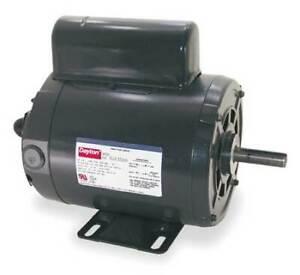 Dayton 4K783bb Tool Motor,2-Shaft,3/4Hp,1750Rpm,115/230