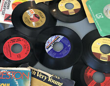 lot of 12 45 vinyl records otis redding cat stevens cash stevie wonder Journey