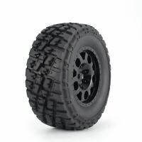 4pcs AUSTAR 110mm Rim Rubber Tires Wheel for Traxxas Slash 4X4 RC Crawler Car KL