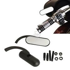 Motorcycle Oval Rearview Mirrors For Kawasaki Vulcan Classic Nomad Voyager 1700