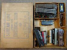 Marx O Scale Electric Toy Train Vintage 3/16 scale  Original Box engine 999 set