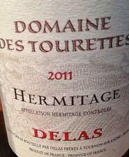 1bt Delas Freres - Hermitage Rouge Domaine des Tourettes 2011 95+ Parker