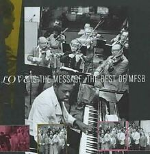 Best of MFSB Love Is The Message 0886972410425 CD