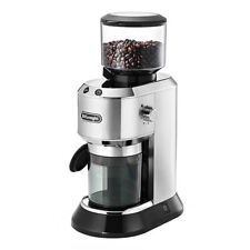 DeLonghi KG 520.M Dedica Kaffeemühle 150 W silber 350g Bohnenbehälter Kaffee