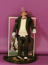 PENGUIN CLASSIC TV SERIES ACTION FIGURE LOOSE WITH CARD AND STAND BURGESS