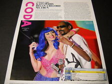 KATY PERRY 5 years ago began her record run 2015 music biz retro PROMO PAGE mint