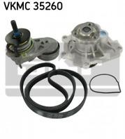 Wasserpumpe + Keilrippenriemensatz für Kühlung SKF VKMC 35260