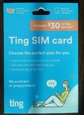 Ting Mobile 3-in-1 Sim Card Kit with $30 Service Credit for New Accounts Only