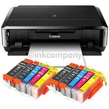 CANON PIXMA IP7250 STAMPANTE A GETTO DI INCHIOSTRO FOTO cd-bedruck + 10x XL