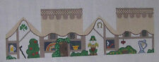 Handpainted Needlepoint Canvas Painted Pony Irish St. Patrick's Day 3D PP-235AA