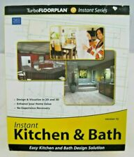 IMSI Design INSTANT KITCHEN & BATH Version 12 - NEW - Sealed Box - Architecture