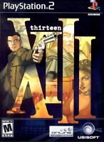 XIII PS2 :Sony PlayStation 2 (2003) Video Game In Mint Condition Ubisoft NEW DVD