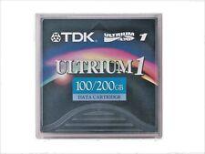 TDK LTO1 or LTO Ultrium 1 Data Cartridge