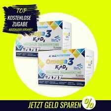 AllNutrition Omega 3 K2+D3 - 2 x 30 Kapseln - Mineralstoffe, Vitamine, DHA B0