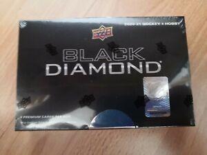 Neu 2020-21 Upper Deck BLACK DIAMOND NHL Karten Hockey Box
