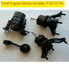 4pc Engine Transmission Mount With Vacuum For 2004-2005-2006 Lexus Rx330 2wd
