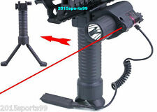 3 in 1 Red Laser Sight + Led Flashlight + Rifle Foregrip Bipod + Remote Switch