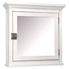 Elegant Home Fashions Madison 1 Door Medicine Cabinet In White
