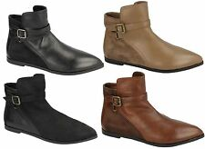 Spot On Synthetic Ankle Boots for Women