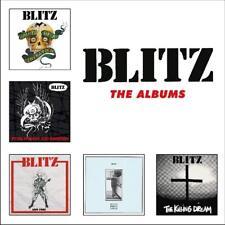 BLITZ - THE ALBUMS  5 CD NEU