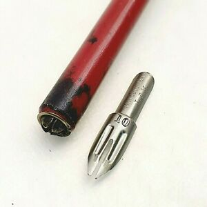 Vintage calligraphy pen wood ink dip pen Princess nib VINTAGE antique 1940s