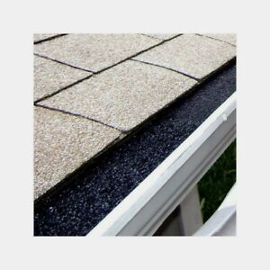 GutterStuff GUTTER GUARD Polyester Foam Insert Blocks Roof Leaves & Debris 4 Ft