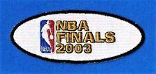 2003 NBA Basketball New Jersey Nets vs San Antonio Spurs FINALS PATCH  (Style 2)