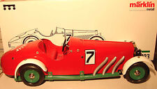 Marklin 1:16 : 1103 Tin Mercedes Ssk Race car #7 clockwork